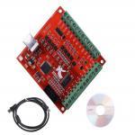 کارت کنترلر دستگاه CNC چهار محور با پشتیبانی از نرم افزار USB MACH3 و پالس خروجی 100KHz