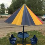 آلاچیق و چتر وسایبان فایبر گلاس