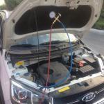 گازکولراتومبیل شارژ گاز کولر ماشین تعمیرات کولر