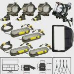 تجهیزات نورپردازی،نورهای ددولایت 4 عددی