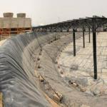 آب بندی و اجرای ژئوممبران استخر کشاورزی و استخر پرورش ماهی