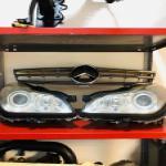 لوازم بدنه و موتوری بنز و بی ام و و انواع خودرو آرش