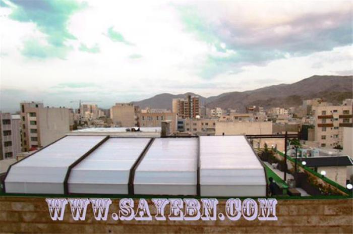 طراحی و اجرای سازه تاشو، سایبان جمع شو و سقف متحرک