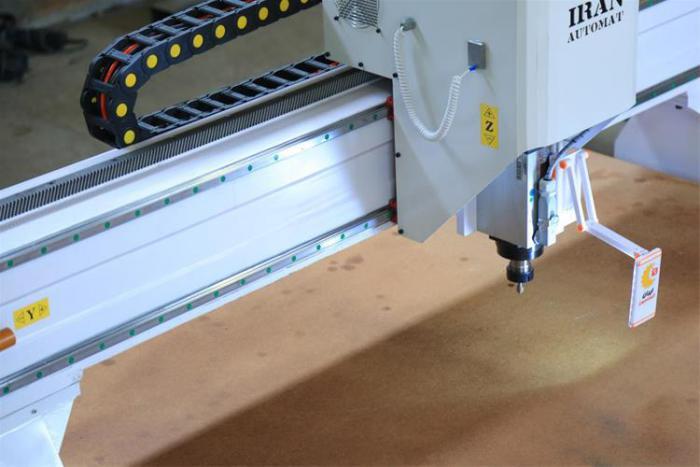 فرز سی ان سی CNC چوب و ام دی اف