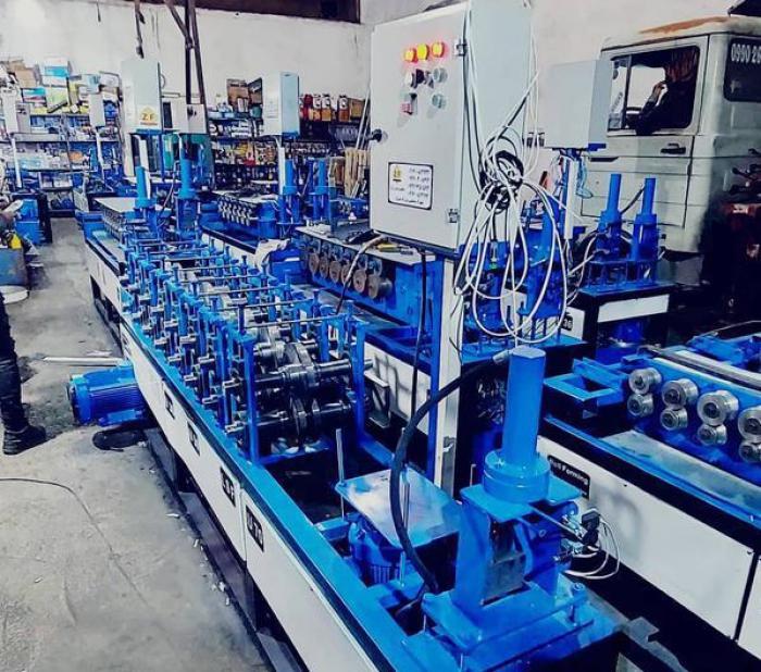 ماشین آلات رول فرمینگ - شرکت رول فرمینگ - ساخت دستگاه رول فرمینگ - ماشین آلات رول فرمینگ