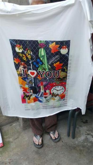 دستگاه چاپ روی تی شرت بارز پنوماتیک