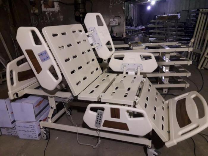 تخت بیمار بیمارستانی برقی و مکانیکی