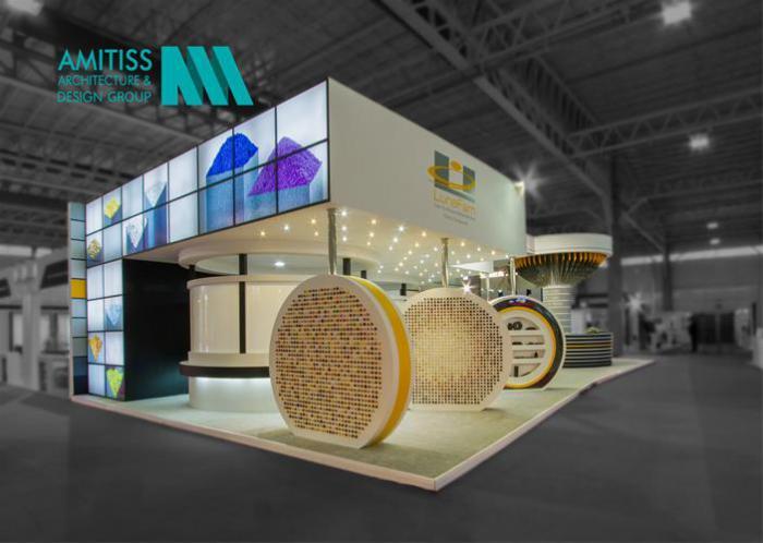 غرفه سازی آمیتیس , طراحی و ساخت غرفه های خاص نمایش