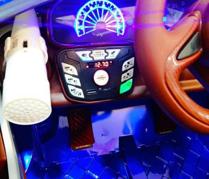 ماشین شارژی مازراتی کیلومتر دیجیتال ۵ موتوره فول