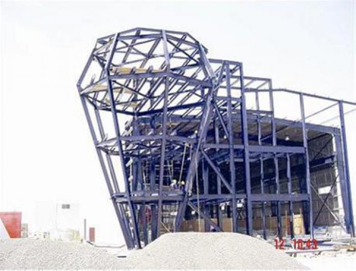 ساخت اسکلت فلزی پیچ مهره ای و سوله،تهران،قزوین،کرج